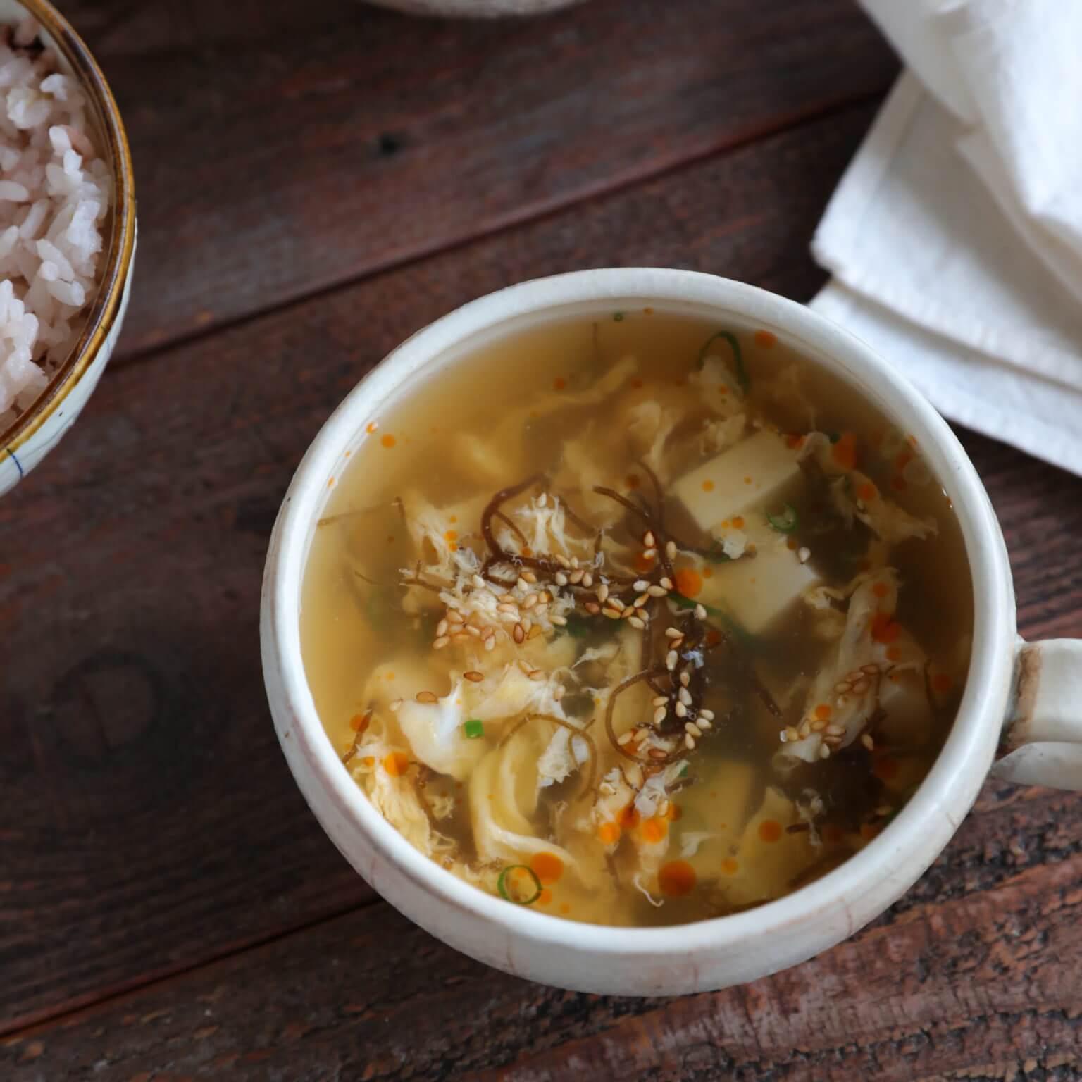 人気 レシピ もずく 酢 もずくのサッパリサラダ(副菜) レシピ・作り方